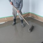 Leveling a floor