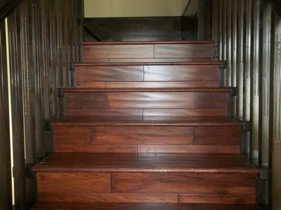 Radeco hardwood flooring vancouver ltd floor installation for Hardwood floors on stairs